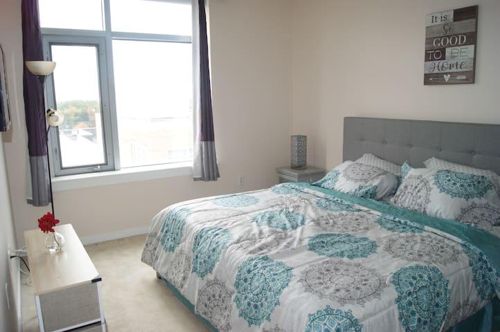 Luxurious Room in stylish Condo 5mins 4rm DC Metro