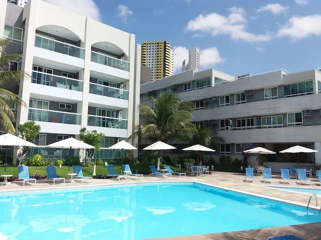 ES - Hotel Ponta Negra Beach ap 414 vista mar