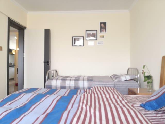 温馨双人床配置的是美容枕,单人床可随意升降看书翻手机不费脖子