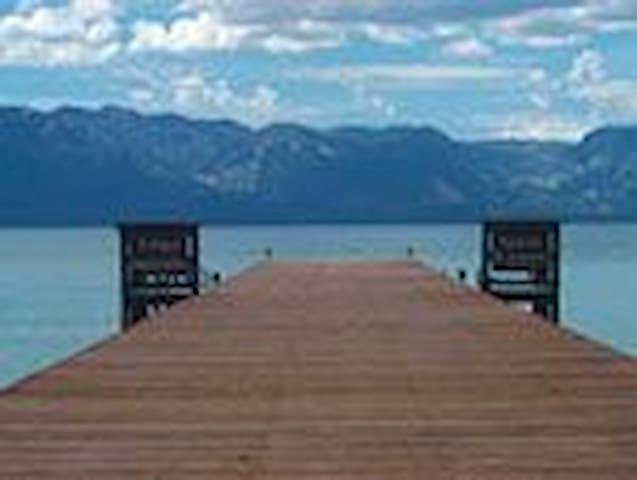 S. LAKE TAHOE, PRIVATE BEACH 3/3 - South Lake Tahoe - Hus