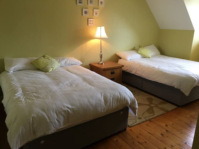 Warm cosy room upstairs