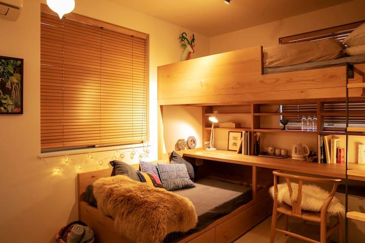 A cozy room  Shinjuku, Shibuya and Shimokitazawa!