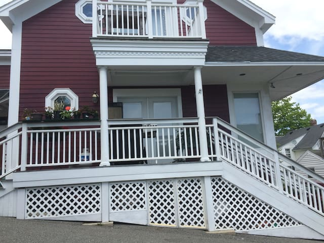 Private Apt Gallery steps to Ocean - Boothbay Harbor - Daire