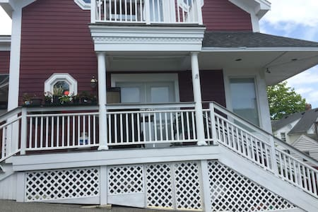 Private Apt Gallery steps to Ocean - Boothbay Harbor