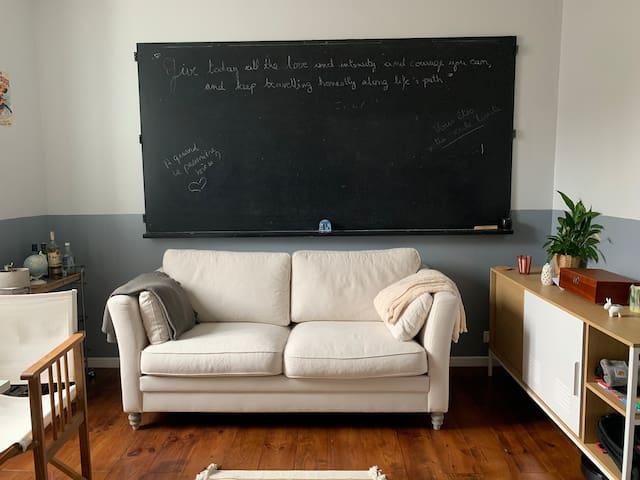 Appartement cosy, calme et central