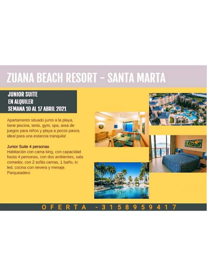 Apartasuite Zuana Beach Resort 17 -24 abril