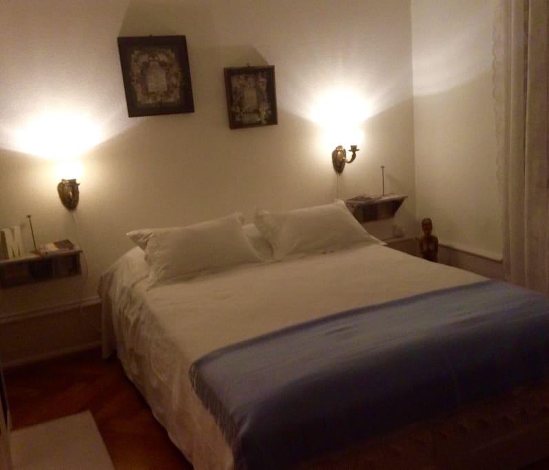 Romantic bedroom....