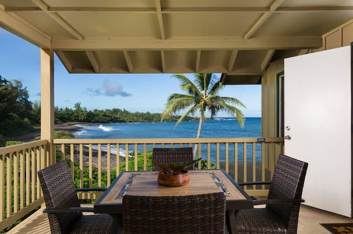 #4 Nanualele - Hana Kai Maui Oceanfront 1 Bd