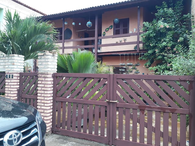Casa Flecheiras Aconchegante - uma quadra da praia