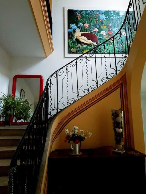 L'escalier 18e siècle