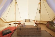 Beautifully and sustainably styled accommodation