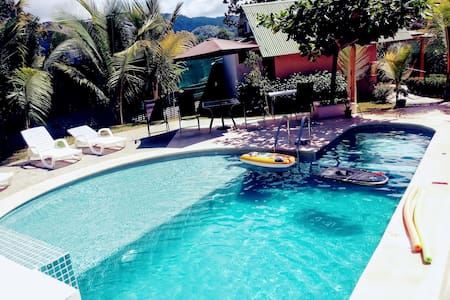 BEACHBungalow with A/C, Tranquil & Private Pool!
