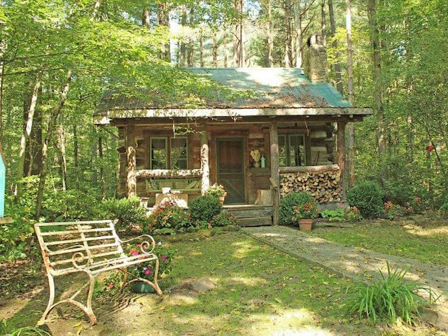"A secluded getaway in the ""Hills of Brown County, Indiana."""