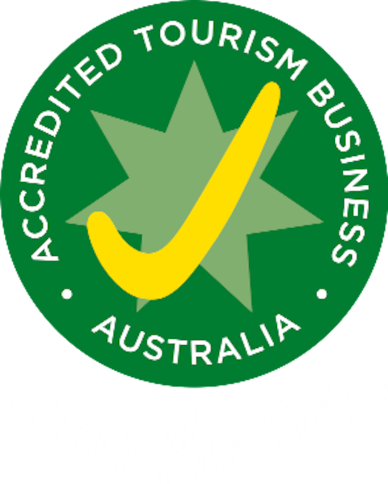 Cascade Cottage is now a fully accredited Australian Tourism Business