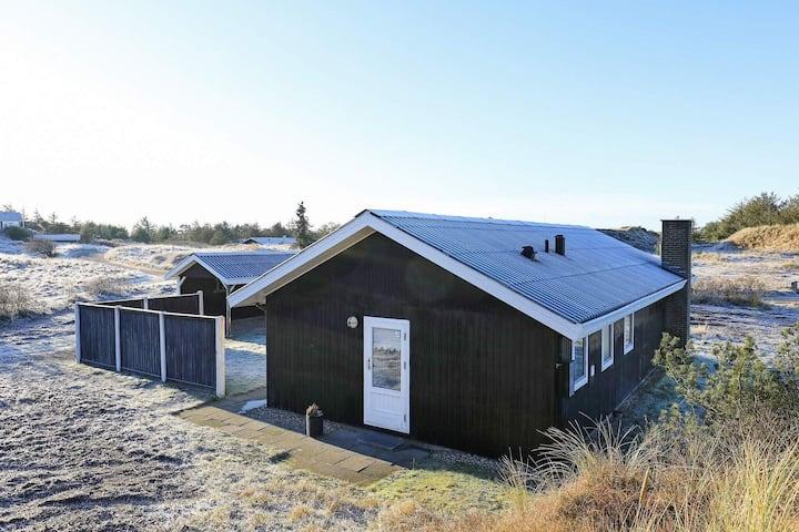 Casa con encanto en Blokhus con terraza cubierta