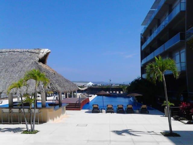 ¡VEN A DISFRUTAR! Depa acogedor en Punta Diamante