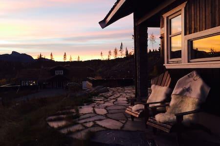 Flott hytte på Golf Alpin, Hemsedal
