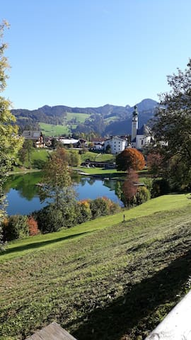 Reither See im Herbst