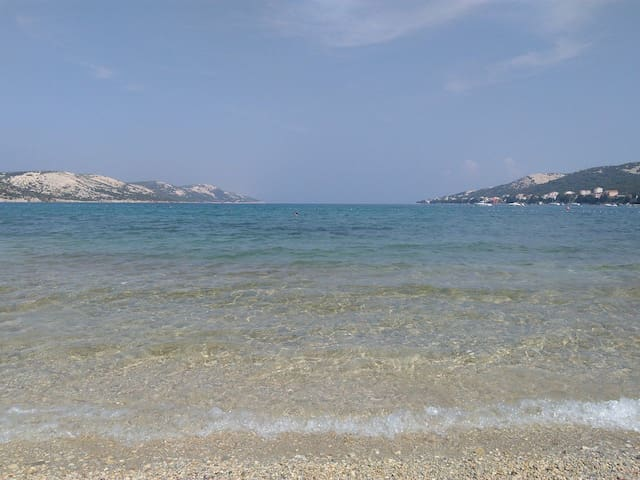 View from beach, 10 meters from the apartmant