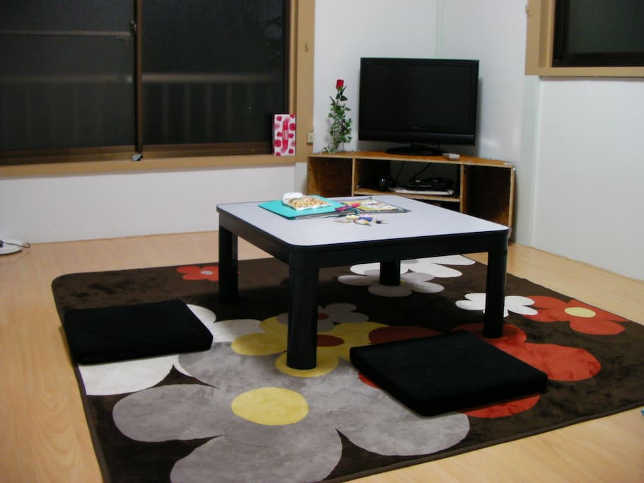 Typical Japanese style bedroom, enjoy Japanese culture here. 传统日式房间,让您充分体验日式文化。