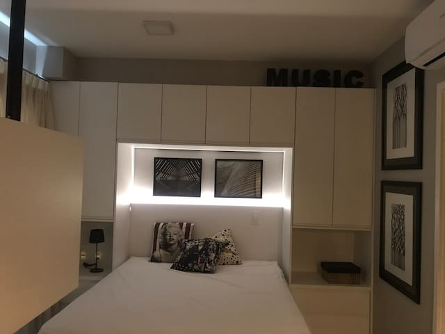 Apartamento encantador, perfeito para você moderno