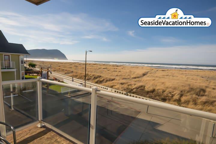 SEAVIEW SUN WATCHER: 900 N PROM #201 Ocean Front!