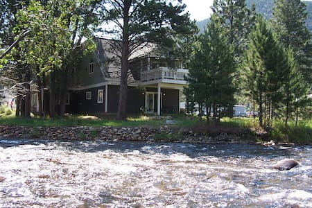 Lux home, low rates, spa on site :) - Estes Park