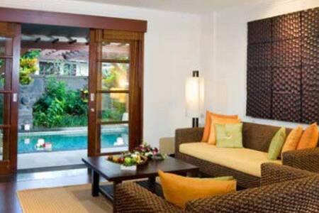 Bali Apartman Nusa Dua, 2bdr+priv.dip pool+garden