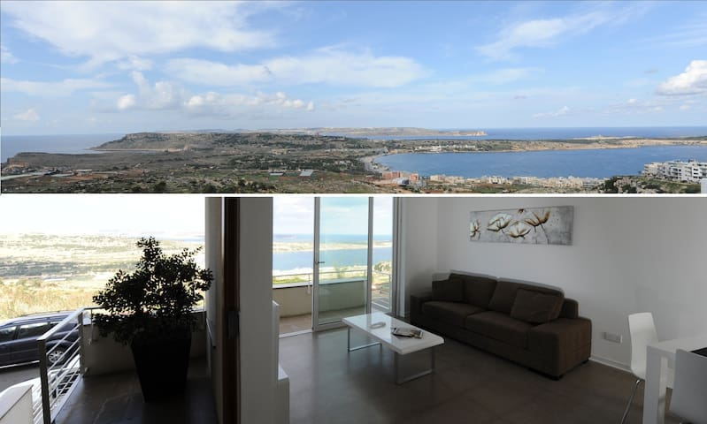 Modern Holiday Flat - Breathtaking Views - Mellieħa - Appartement
