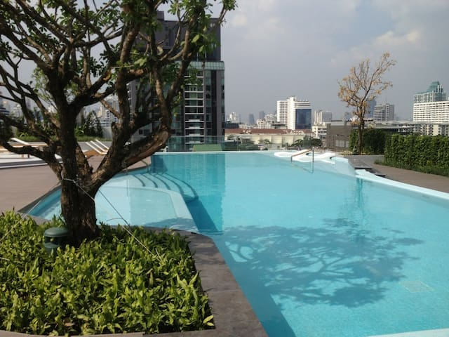 Stay wild and Light-1bedroom(free airport pick up) - Bangkok  - Apartment