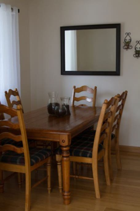 Dining room.  Take advantage of kitchen - all amenities available for your use!!