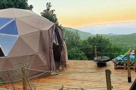 """Dome geodesique """" u caminu """""""