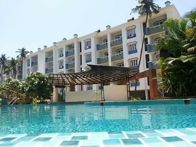 Apartment @ Akar Excelsior close to the beach - Vanelim, Colva - Byt