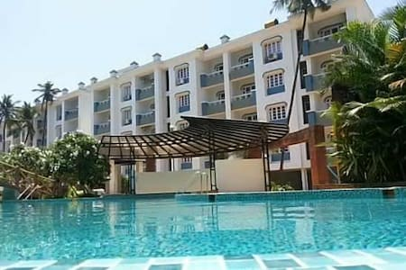 Apartment @ Akar Excelsior close to the beach - Vanelim, Colva - Lakás
