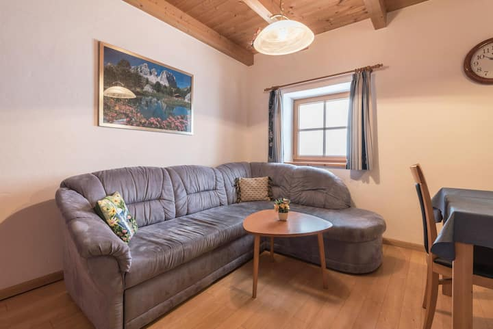 """Charming Apartment """"Sattelkammer"""" with Mountain View, Wi-Fi & Garden; Parking Available, Pets Allowed"""