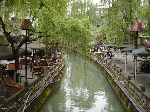 Dujiangyan-Family holiday都江堰法式度假屋 - Dujiangyan, Chengdu - Apartemen