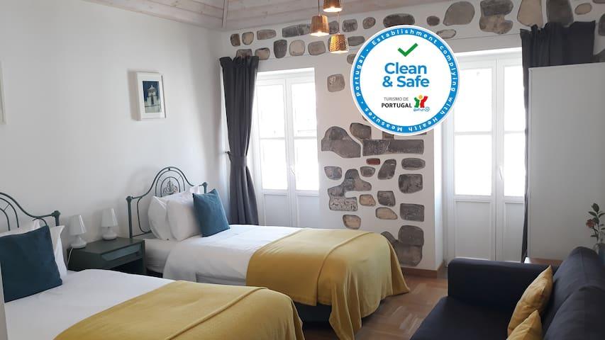 Twin Room - Calçada Guesthouse, Bed & Breakfast