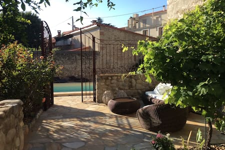 Charming city house with private garden and pool - Ille-sur-Têt