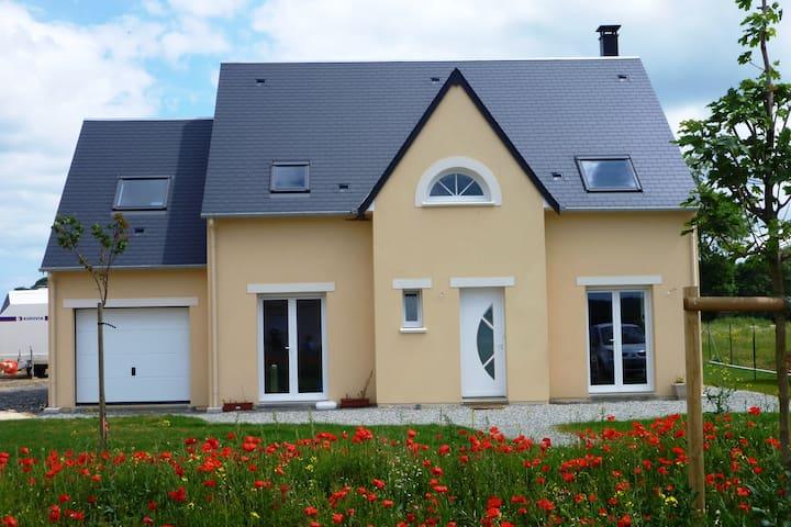 Maison à deux pas du Golf de Caen - BIEVILLE BEUVILLE - Casa