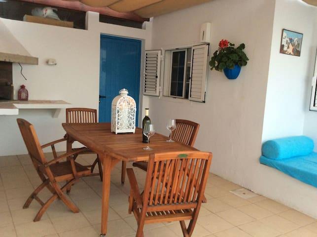 Casa con piscina, solarium y BBQ - Playa Honda - Ev