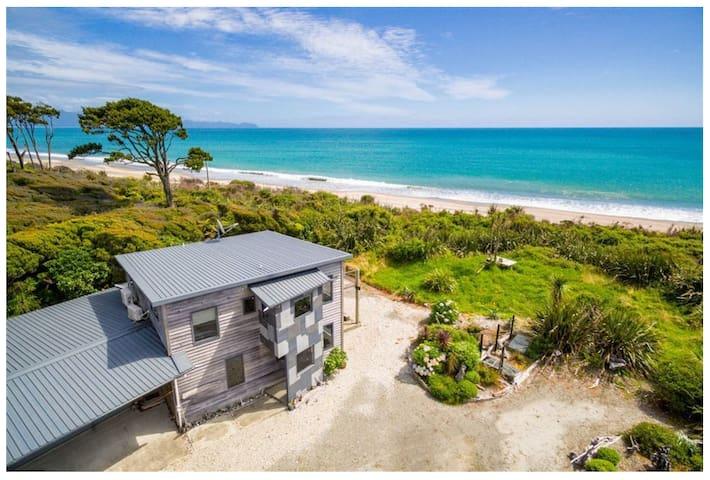 Jacksons Bay Beach House, paradise on the beach.