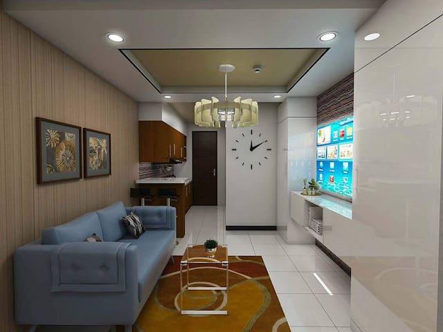 Fully Furnished Modern Studio Type Condo in Manila