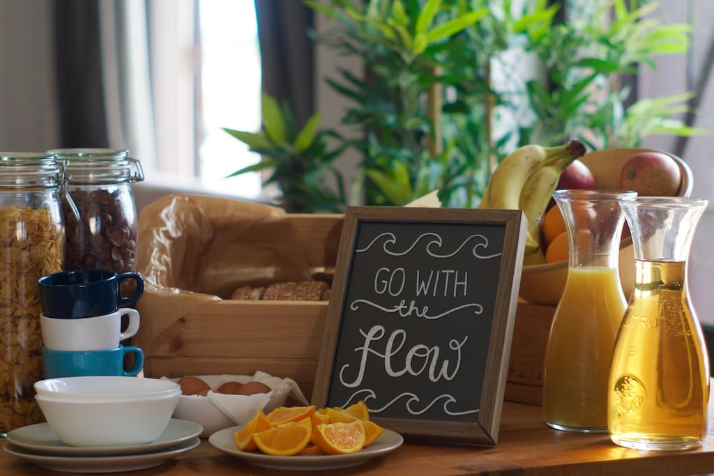 Enjoy our delicious and healthy complimentary breakfast.