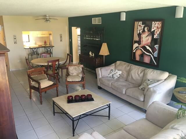 Spacious one room apartment in Palmas del Mar