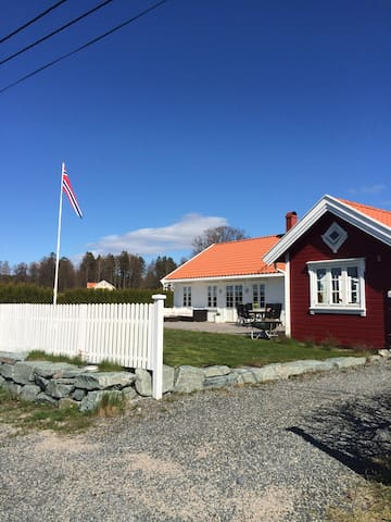 SUMMERHOUSE fuglevik LARKOLLEN close to Oslo - Rygge - House