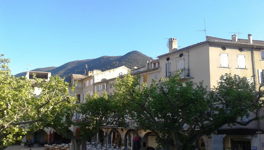 Two roomed flat - NYONS in Drôme Provençale - Nyons - Byt