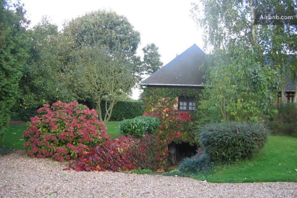 Nature calme et volupt 2 chambres d 39 h tes louer for Chambre d hote haute normandie