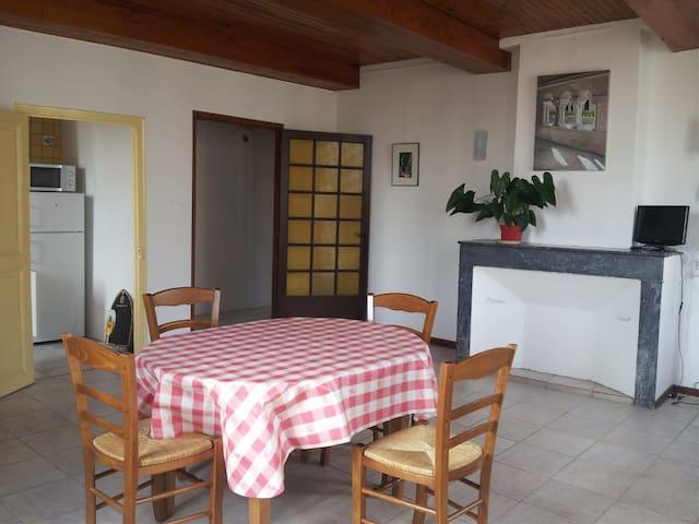 3-pièces tout confort centre ville - Forcalquier - Apartment