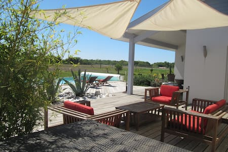 Villa avec piscine 15min d'hossegor - Josse - 別荘