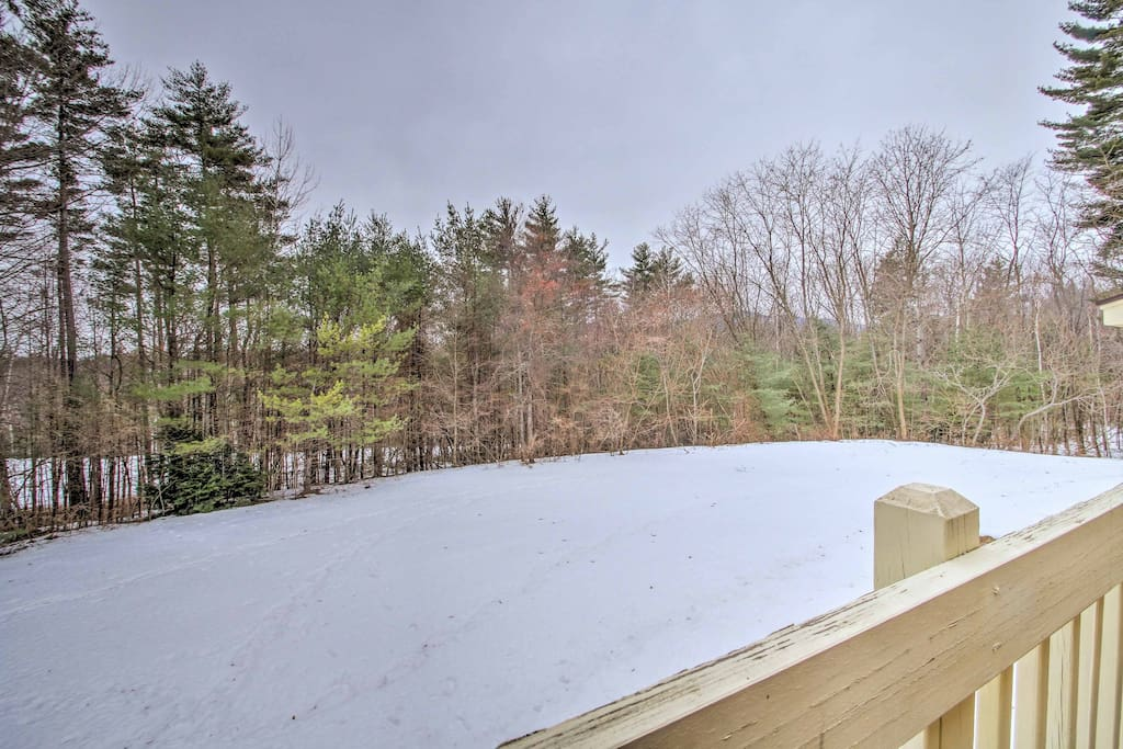 You'll love the woodland and Moat Mountain views!